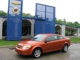 2007 Sunburst Orange Metallic Chevrolet Cobalt LS Sedan #13361028