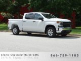 2019 Summit White Chevrolet Silverado 1500 WT Double Cab #133957408