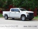 2019 Summit White Chevrolet Silverado 1500 WT Crew Cab 4WD #133957407