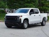 2019 Chevrolet Silverado 1500 WT Crew Cab 4WD Front 3/4 View