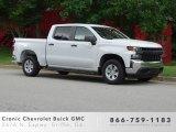 2019 Summit White Chevrolet Silverado 1500 WT Crew Cab #133957406