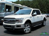 2019 White Platinum Ford F150 Lariat SuperCrew 4x4 #133979291