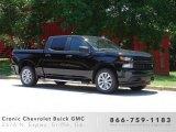 2019 Black Chevrolet Silverado 1500 Custom Crew Cab #133979393