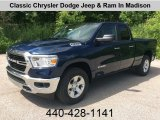 2019 Patriot Blue Pearl Ram 1500 Big Horn Quad Cab 4x4 #133995584