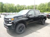2019 Black Chevrolet Silverado 1500 Custom Z71 Trail Boss Crew Cab 4WD #133995493