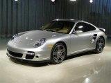 2007 Arctic Silver Metallic Porsche 911 Turbo Coupe #134001