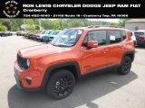 2019 Omaha Orange Jeep Renegade Latitude 4x4 #133995453
