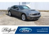 2011 Sterling Gray Metallic Ford Mustang V6 Premium Coupe #134032975