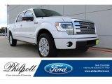 2014 White Platinum Ford F150 Platinum SuperCrew #134032973