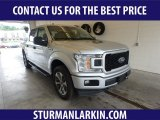 2019 Ingot Silver Ford F150 STX SuperCrew 4x4 #134032933
