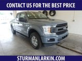 2019 Abyss Gray Ford F150 XLT SuperCab 4x4 #134032930