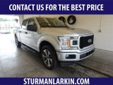 2019 Ingot Silver Ford F150 XL SuperCab 4x4 #134032928