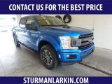 2019 Velocity Blue Ford F150 XLT SuperCrew 4x4 #134032927