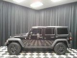 2016 Black Jeep Wrangler Unlimited Willys Wheeler 4x4 #134032817