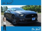 2016 Avalanche Gray Ford Mustang EcoBoost Premium Coupe #134032837