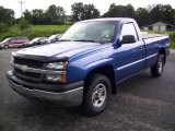 2003 Arrival Blue Metallic Chevrolet Silverado 1500 Regular Cab 4x4 #13367886