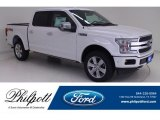 2019 White Platinum Ford F150 Platinum SuperCrew 4x4 #134052778