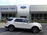 2017 White Platinum Ford Explorer Platinum 4WD #134052775