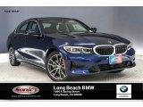 2019 Mediterranean Blue Metallic BMW 3 Series 330i Sedan #134052798