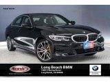 2019 Jet Black BMW 3 Series 330i Sedan #134052794