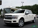2018 White Platinum Ford F150 Platinum SuperCrew 4x4 #134052603