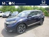 2019 Obsidian Blue Pearl Honda CR-V Touring AWD #134072315