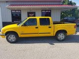 Flame Yellow Chevrolet S10 in 2002