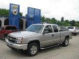 2006 Silver Birch Metallic Chevrolet Silverado 1500 LT Extended Cab 4x4 #13361016