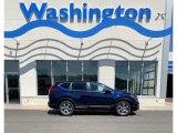 2019 Obsidian Blue Pearl Honda CR-V EX AWD #134072317