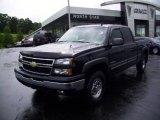 2006 Black Chevrolet Silverado 1500 LT Crew Cab 4x4 #13367887