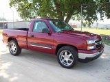 2006 Sport Red Metallic Chevrolet Silverado 1500 LT Regular Cab #13372318