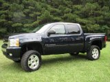 2008 Dark Blue Metallic Chevrolet Silverado 1500 LT Crew Cab 4x4 #13369420