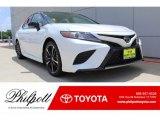 2019 Midnight Black Metallic Toyota Camry XSE #134099428