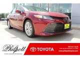 2019 Ruby Flare Pearl Toyota Camry XLE #134099426