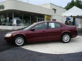2002 Dark Garnet Red Pearl Chrysler Sebring LX Sedan #13373032