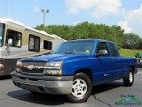 2003 Arrival Blue Metallic Chevrolet Silverado 1500 Extended Cab #134099212