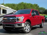 2019 Ruby Red Ford F150 XLT SuperCrew 4x4 #134099211