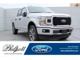 2019 Ingot Silver Ford F150 STX SuperCrew 4x4 #134121388