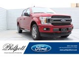 2019 Ruby Red Ford F150 XLT SuperCrew 4x4 #134121386