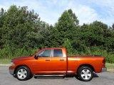 2009 Sunburst Orange Pearl Dodge Ram 1500 SLT Quad Cab #134139193