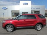 2019 Ruby Red Ford Explorer XLT 4WD #134139479