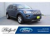 2019 Blue Metallic Ford Explorer XLT #134168600