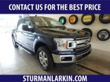 2019 Blue Jeans Ford F150 XLT SuperCrew 4x4 #134189132