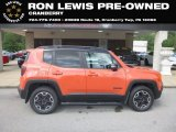 2017 Omaha Orange Jeep Renegade Trailhawk 4x4 #134189088