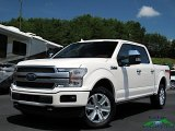 2019 White Platinum Ford F150 Platinum SuperCrew 4x4 #134189022