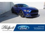2016 Deep Impact Blue Metallic Ford Mustang GT Coupe #134209445