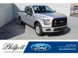 2015 Ingot Silver Metallic Ford F150 XL SuperCab #134209443