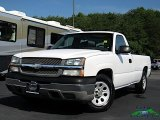 2005 Summit White Chevrolet Silverado 1500 Regular Cab #134209278