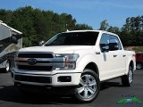 2019 White Platinum Ford F150 Platinum SuperCrew 4x4 #134209277