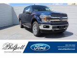 2019 Blue Jeans Ford F150 Lariat SuperCrew 4x4 #134209428